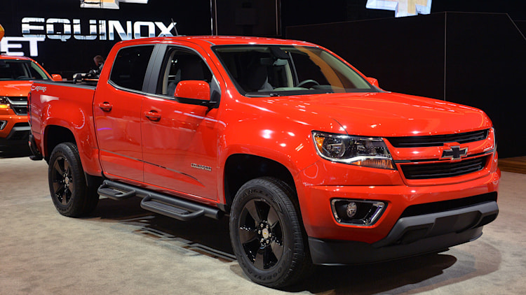 2015 Chevrolet Colorado GearOn Edition: Chicago 2015 Photo ...