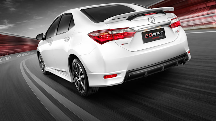 Toyota Corolla Altis Esport Nurburgring Edition Photo
