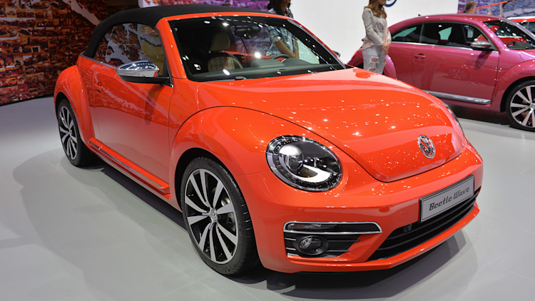 Volkswagen Beetle Special Edition Concepts New York 2015