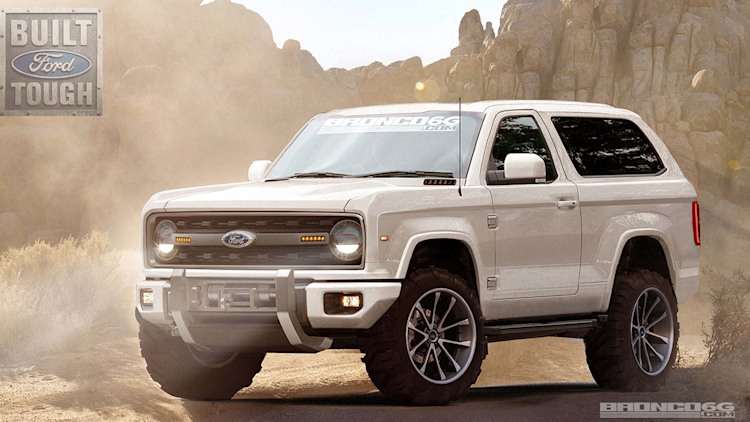 New Ford Bronco  Car Coming Out