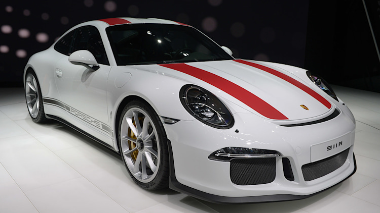 2017 porsche 911 r geneva 2016 photo gallery autoblog. Black Bedroom Furniture Sets. Home Design Ideas