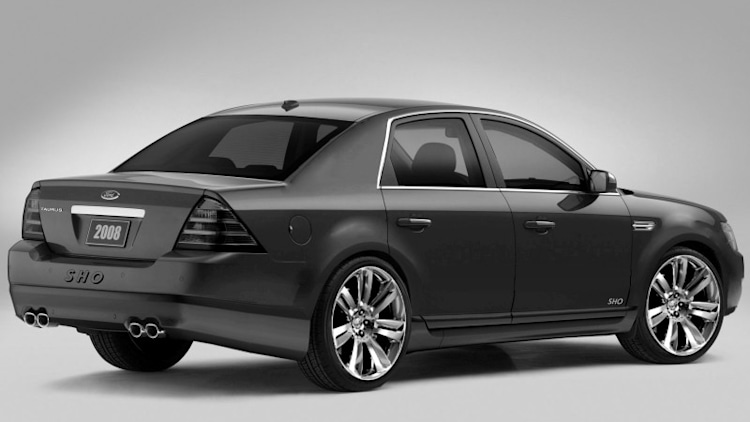 2009 ford taurus sho photoshop photo gallery autoblog. Black Bedroom Furniture Sets. Home Design Ideas