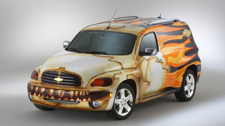 Chevy Hhr Panel Wagon Wrapped Up Photo Gallery Autoblog
