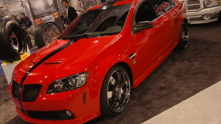 pontiac g8 by 50 cent and unique autosports photo gallery. Black Bedroom Furniture Sets. Home Design Ideas