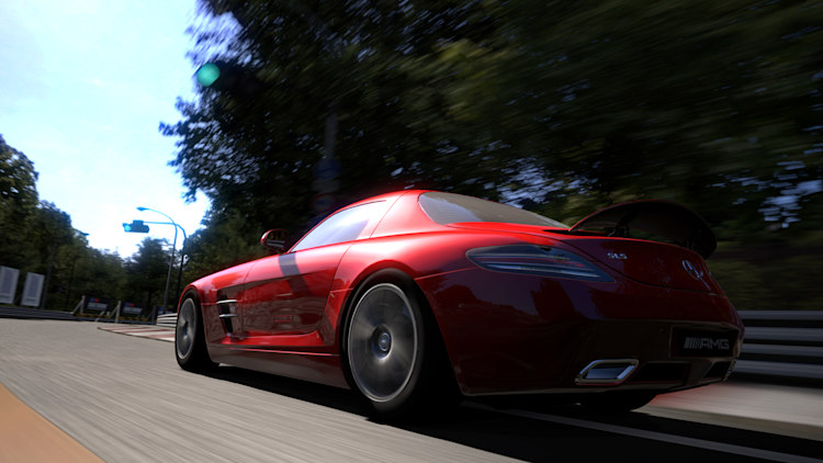 gran turismo 5 cover with mercedes benz sls amg photo gallery autoblog. Black Bedroom Furniture Sets. Home Design Ideas