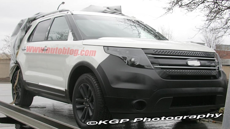 spy shots 2012 ford explorer photo gallery autoblog. Black Bedroom Furniture Sets. Home Design Ideas