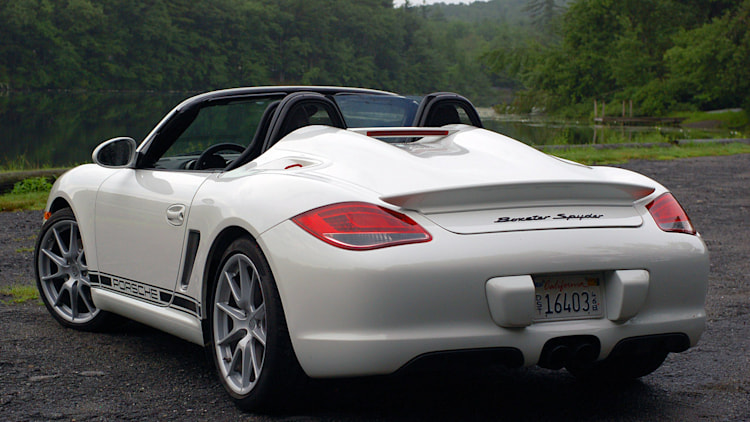 review 2011 porsche boxster spyder photo gallery autoblog. Black Bedroom Furniture Sets. Home Design Ideas