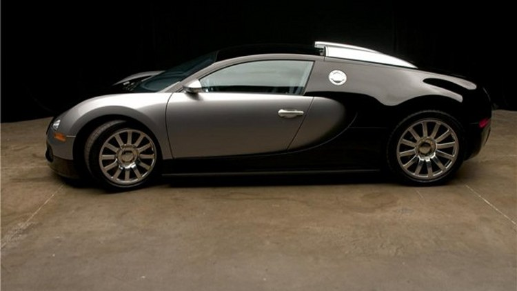 Gas Prices Las Vegas >> 2008 Bugatti Veyron at Barrett-Jackson Las Vegas Photo Gallery - Autoblog