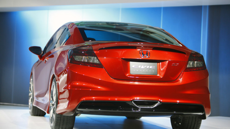 2011 detroit 2012 honda civic coupe concept photo gallery. Black Bedroom Furniture Sets. Home Design Ideas