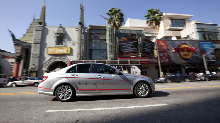 Mercedes benz driving academy los angeles photo gallery for Mercedes benz los angeles dealers