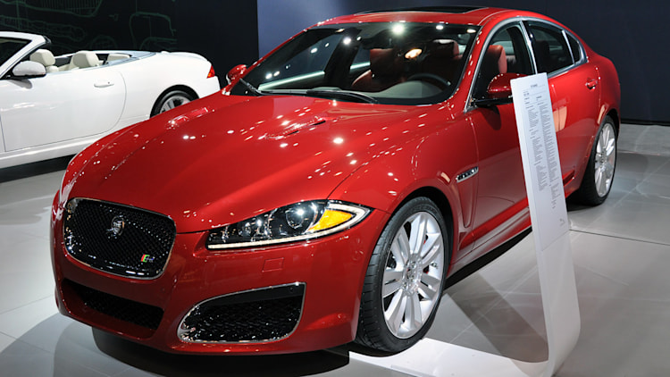 2012 jaguar xfr new york 2011 photo gallery autoblog. Black Bedroom Furniture Sets. Home Design Ideas