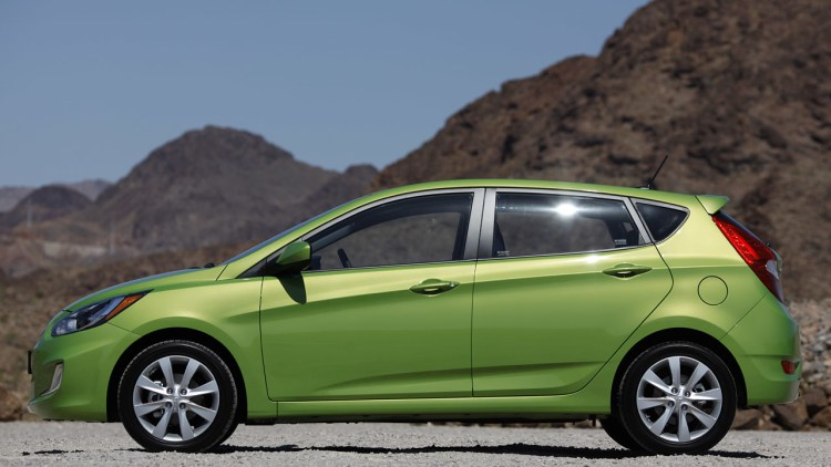 2012 Hyundai Accent Five Door First Drive Photo Gallery