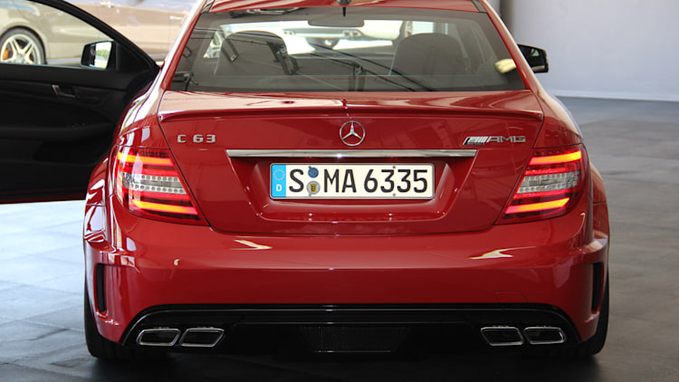 2012 mercedes benz c63 amg coupe black series live photo gallery autoblog. Black Bedroom Furniture Sets. Home Design Ideas