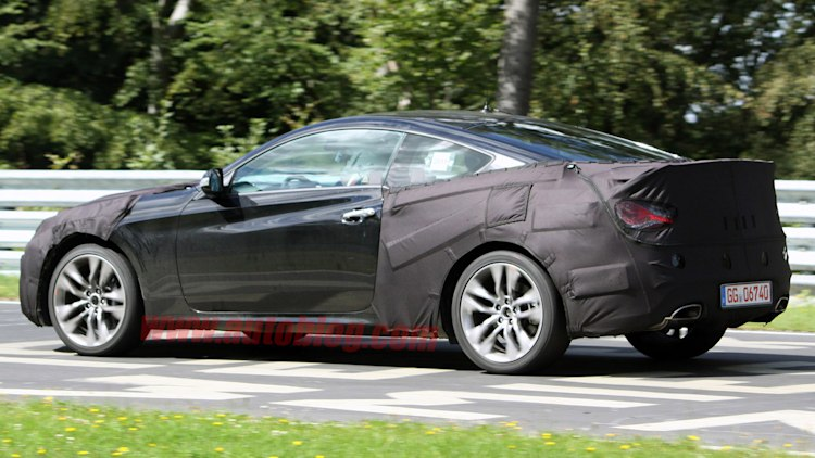 2013 Hyundai Genesis Coupe Spy Shots Photo Gallery Autoblog