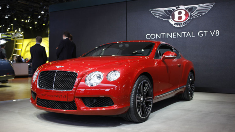 2012 Bentley Continental Gt V8 Detroit 2012 Photos Photo