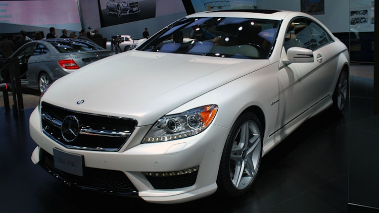 2012 mercedes benz cl63 amg matte white detroit 2012. Black Bedroom Furniture Sets. Home Design Ideas