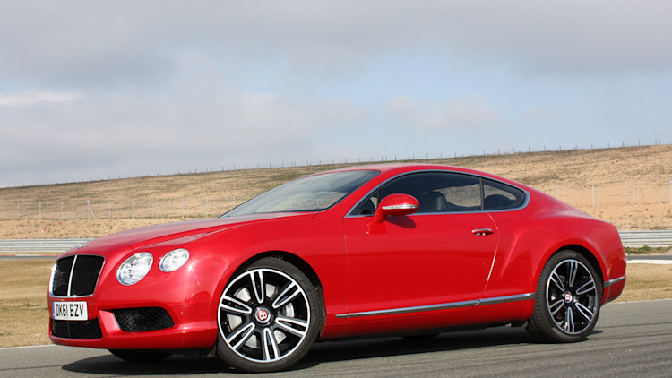 2013 Bentley Continental Gt V8 First Drive Photo Gallery