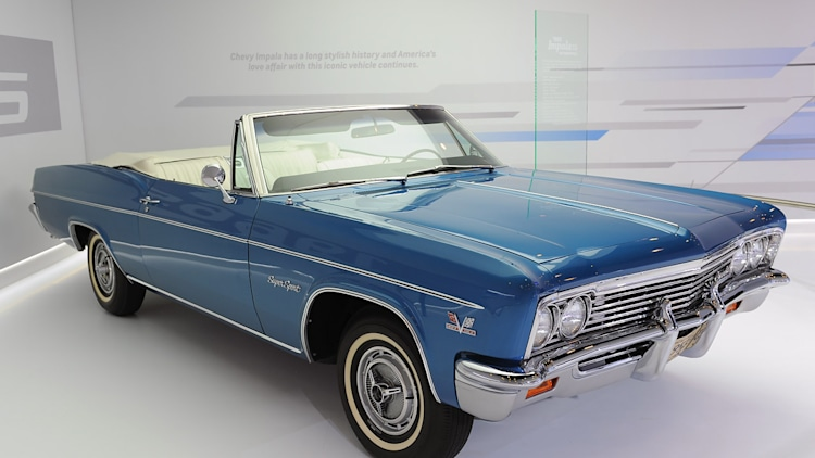 Chevy Certified Pre Owned >> 1966 Chevrolet Impala SS 427 Convertible: New York 2012 Photo Gallery - Autoblog