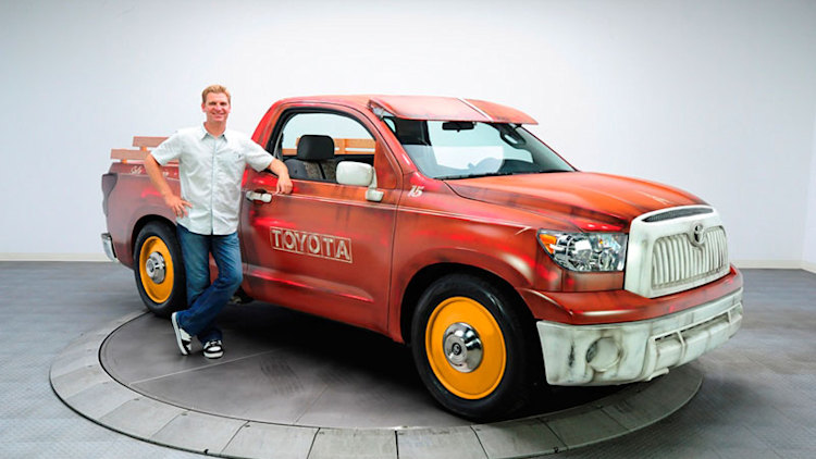 Clint bowyer 2011 toyota tundra photo gallery autoblog for Charity motors 8 mile lahser