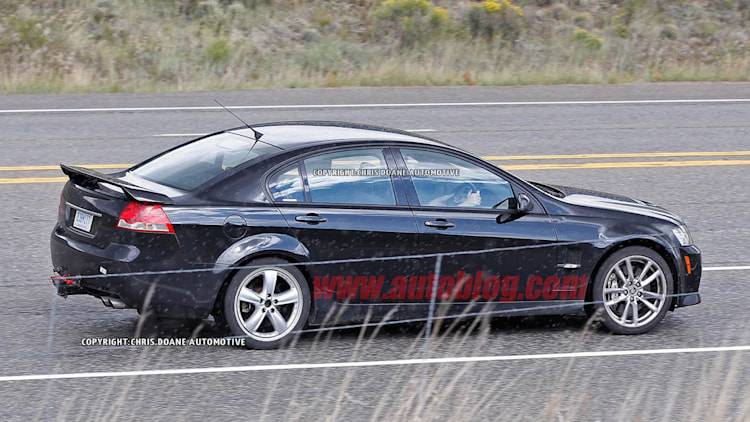 Chevy SS Prototype - G8 Mule Testing Photo Gallery - Autoblog