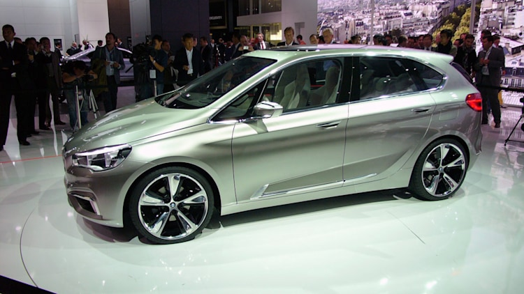 Bmw Concept Active Tourer Paris 2012 Photo Gallery Autoblog