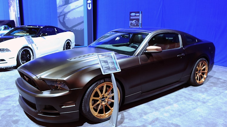 2013 ford mustang build powered by women sema 2012 photo gallery autoblog. Black Bedroom Furniture Sets. Home Design Ideas