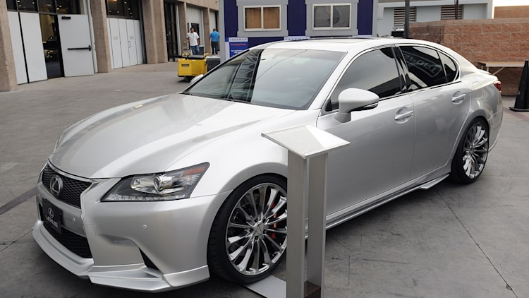 2013 lexus gs 350 f sport supercharged sema 2012 photo gallery autoblog. Black Bedroom Furniture Sets. Home Design Ideas