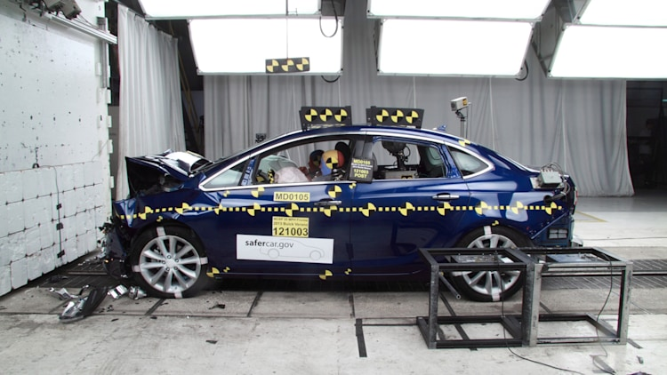 2013 Buick Verano Gets 5 Star Safety Rating Photo Gallery
