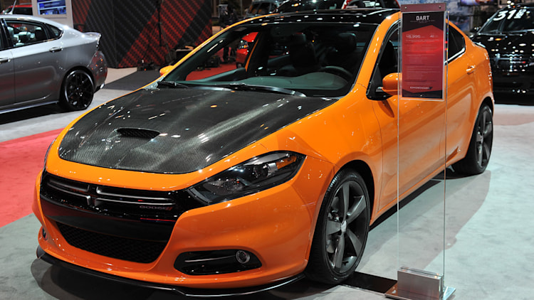 2013 dodge dart with mopar accessories chicago 2013 photo gallery autoblog. Black Bedroom Furniture Sets. Home Design Ideas