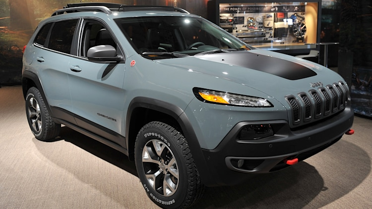 2014 Jeep Cherokee Trailhawk: New York 2013 Photo Gallery ...