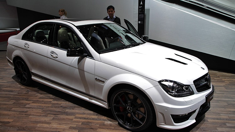 Mercedes benz c63 amg edition 507 geneva 2013 photo for Mercedes benz c63 amg edition 507
