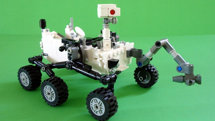 Lego Mars Curiosity Rover Photo Gallery Autoblog