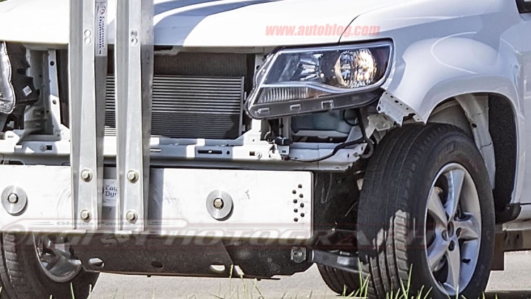2020 Ford Bronco Mule Wearing Chevy Colorado Bodywork