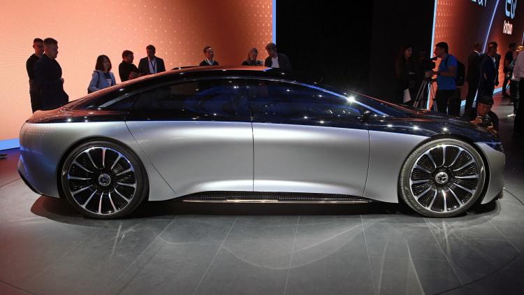 Mercedes-Benz Vision EQS: Frankfurt 2019 Photo Gallery ...