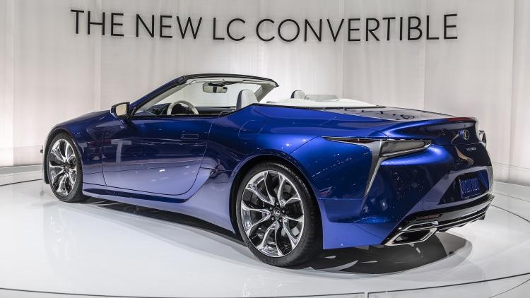 2021 lexus lc 500 convertible  la 2019 photo gallery