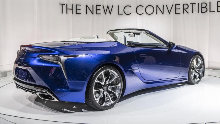 2021 lexus lc 500 convertible: la 2019 photo gallery
