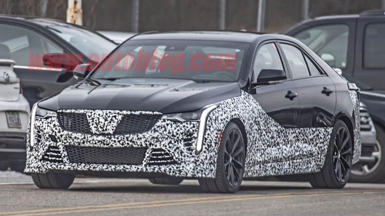 Cadillac CT4 and CT5 V-series Spy Shots Photo Gallery ...