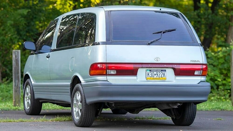 1993 Toyota Previa On Ebay Photo Gallery