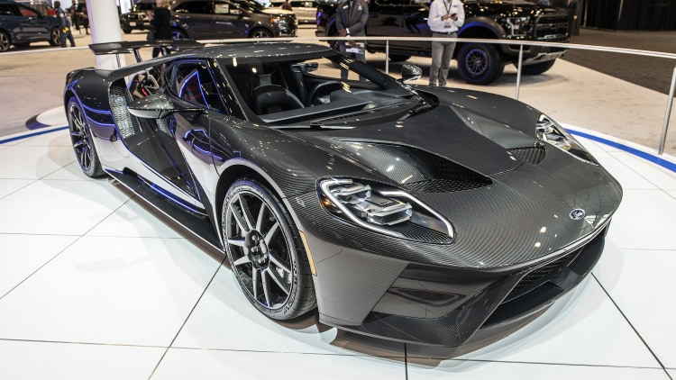 2020 Ford GT Liquid Carbon Edition: Chicago 2020 Photo ...