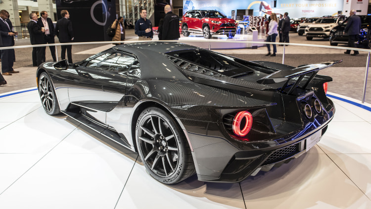 Chicago 2020: Ford GT recibe más potencia y ediciones