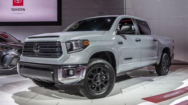 2021 Toyota Tundra Trail Edition  Chicago 2020 Photo