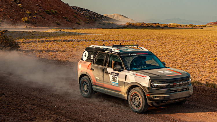 2021 ford bronco sport at the 2020 rebelle rally photo