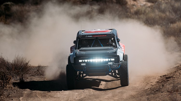 ford bronco r race prototype in the 2020 baja 1000 photo