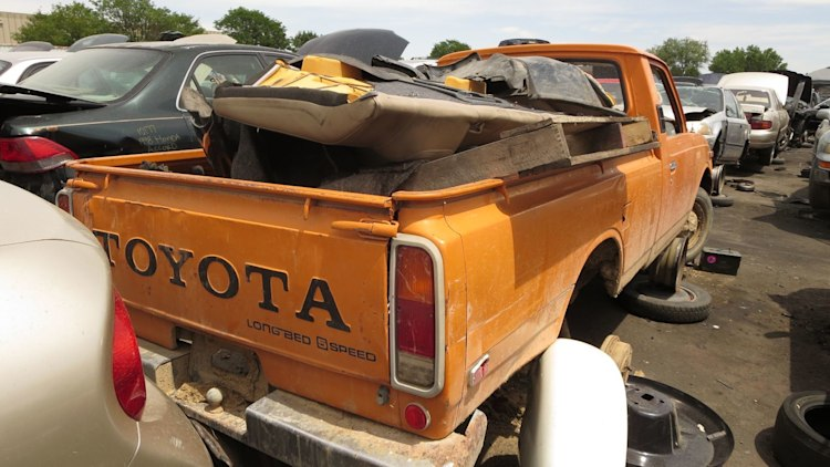 Junked 1978 Toyota Hilux Pickup Photo Gallery Autoblog