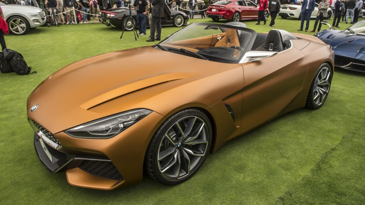 Bmw Concept Z4 At Pebble Beach Photo Gallery Autoblog