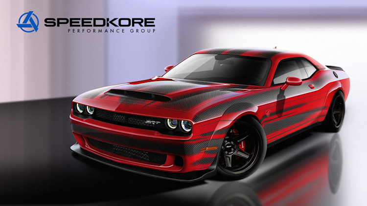 speedkore performance 2018 dodge challenger srt demon. Black Bedroom Furniture Sets. Home Design Ideas
