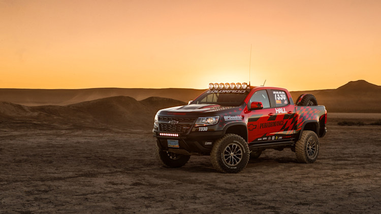 Chevrolet Colorado Race Development Truck Photo Gallery ...