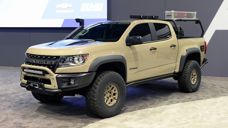 Chevrolet Colorado ZR2 AEV Concept: SEMA 2017 Photo ...