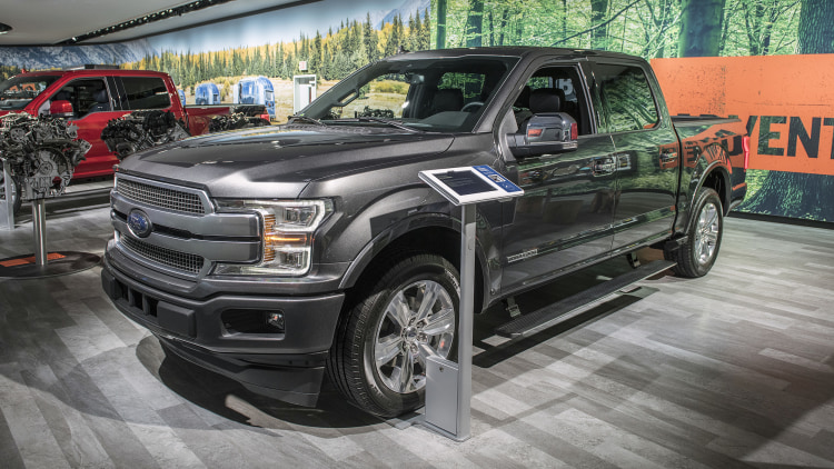 Ford Certified Pre Owned >> 2018 Ford F-150 Diesel: Detroit 2018 Photo Gallery - Autoblog