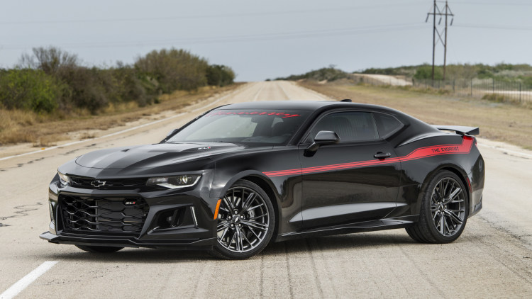 Hennessey Exorcist Camaro Zl1 Top Speed Run Photo Gallery